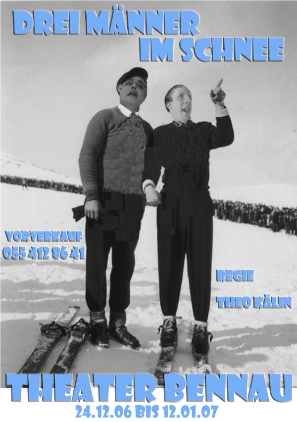 2006_Drei Männer im Schnee 1
