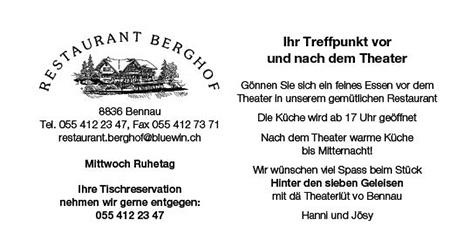 Restaurant Berghof Bennau