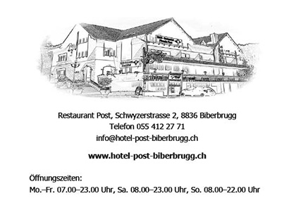 Hotel Post Biberbrugg