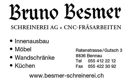 Bruno Besmer Schreinerei